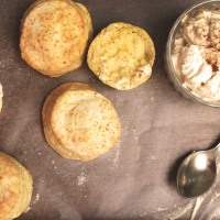 Sunday Scones with Cinnamon Cream
